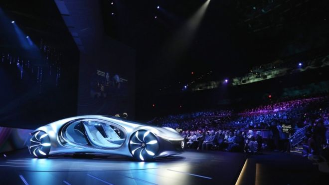 CES 2020: Concept cars of the future shown off in Vegas