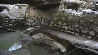 Ancient sweat lodge uncovered in Mexico City