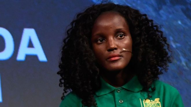 Vanessa Nakate: Climate activist hits out at 'racist' photo crop