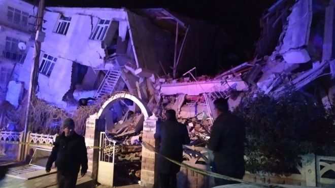 Turkey earthquake: At least 18 dead as buildings collapse