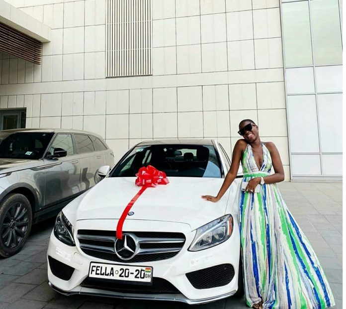 This is why Medikal cannot claim the car he gifted Fella Makafui