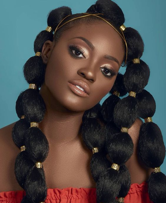 2020: Fulani bubble ponytail hairstyle trends globally