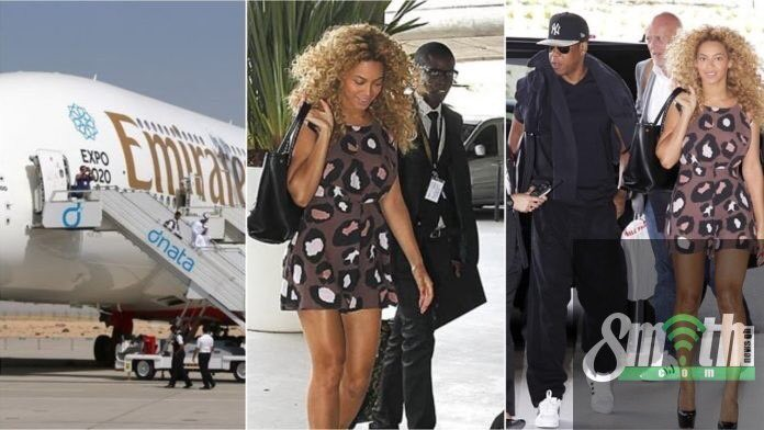 Jay Z, Beyonce and their daughter Blue Ivy arrives in Ghana for the Year of Return