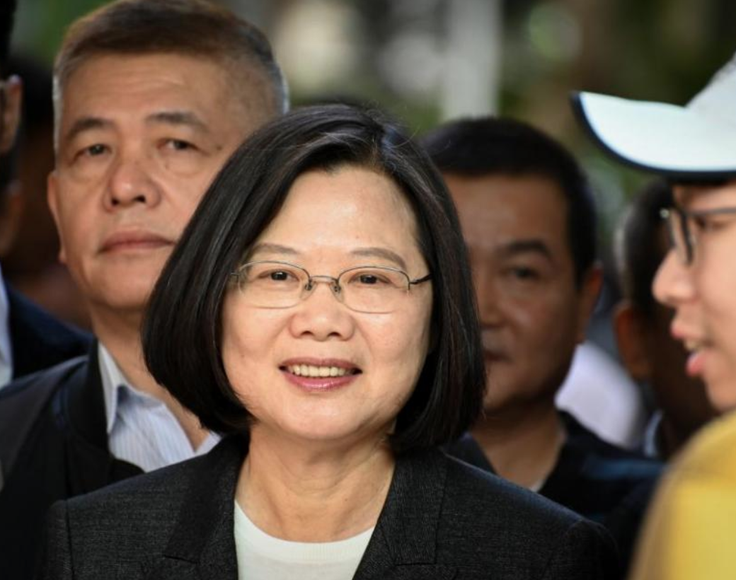 Taiwanese President Tsai Ing-wen re-elected in defiant message to China