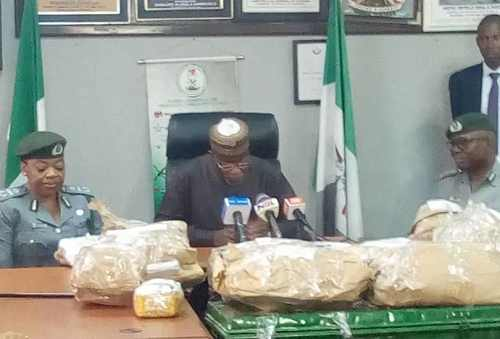 Nigerian authorities find $8m hidden in car at Lagos airport
