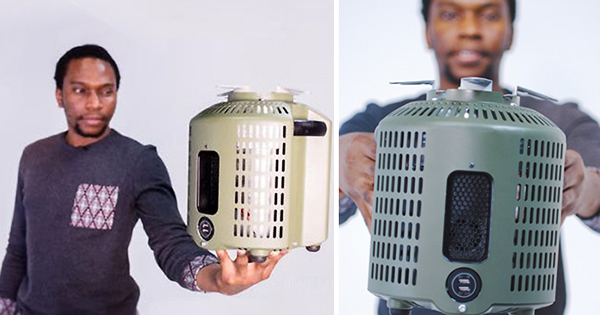 Nigerian Inventor Creates Stove That Cooks Food And Charges Smartphones