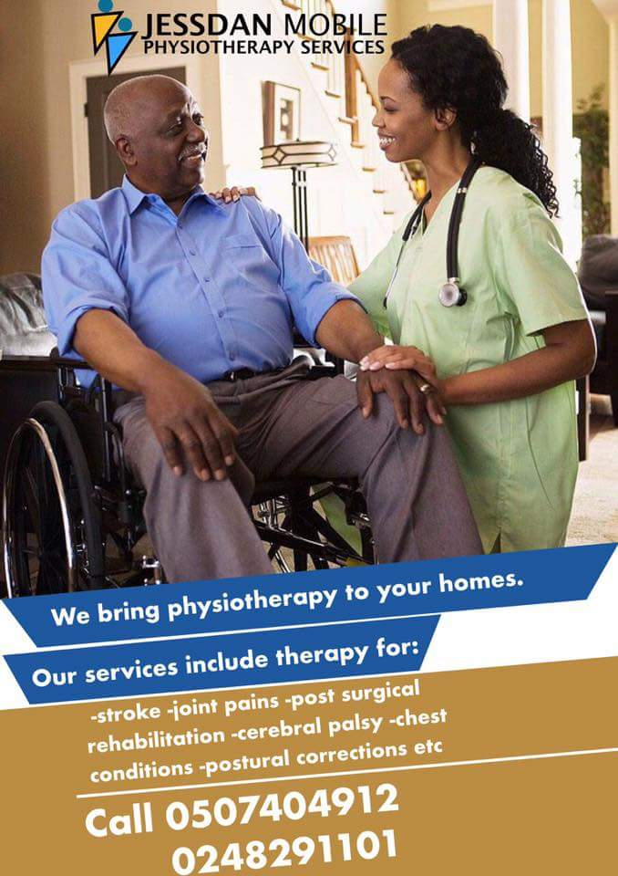 Physiotherapy in Ghana now just a call away