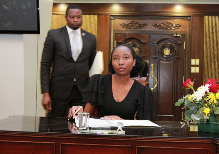 Emma Theofilus is Namibia's youngest minister and MP at 23